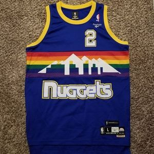 Authentic Alex English Denver Nuggets Jersey New